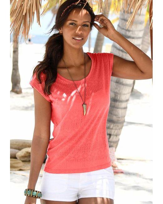 Lascana Pink T-Shirts