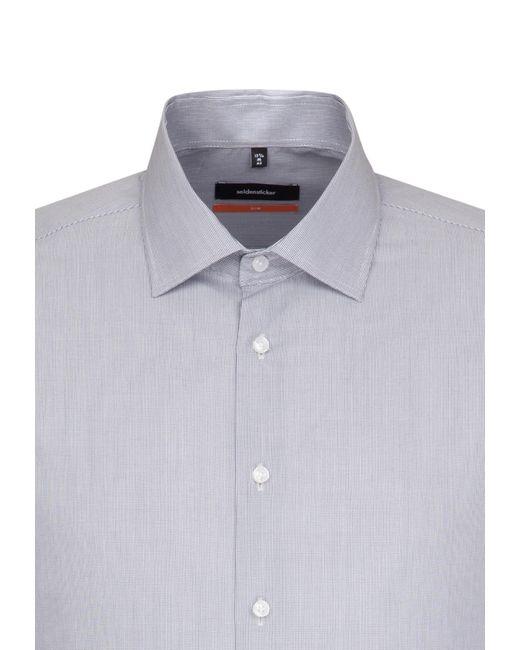 Seidensticker Hemd 'Slim' in Multicolor für Herren