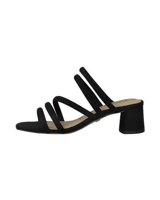 Tamaris Black Sandale