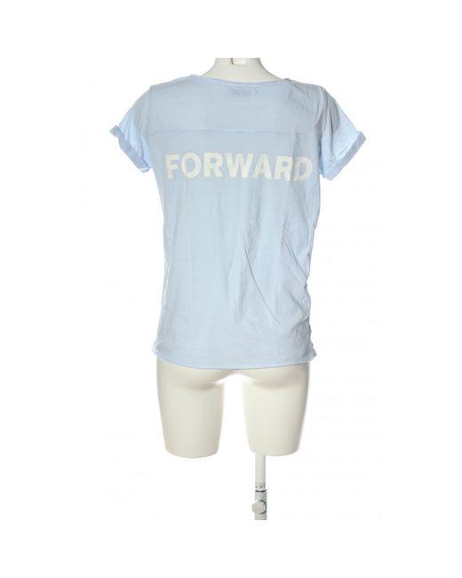Reserved Blue Print-Shirt