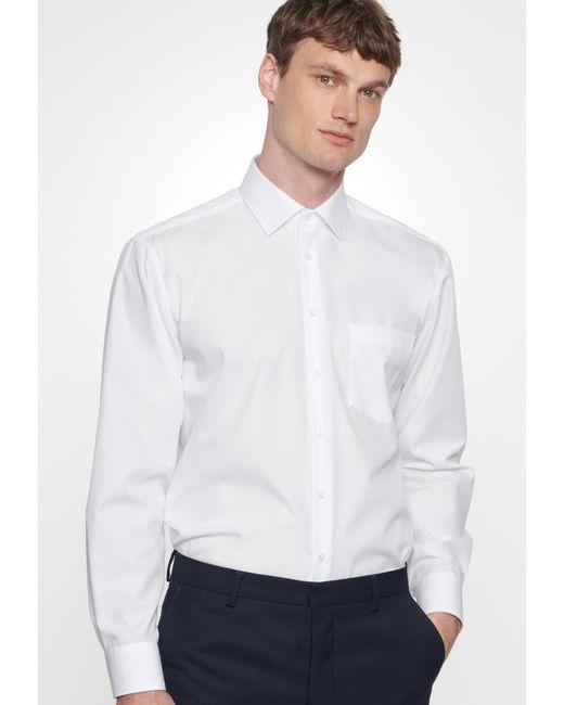 Seidensticker Hemd in White für Herren