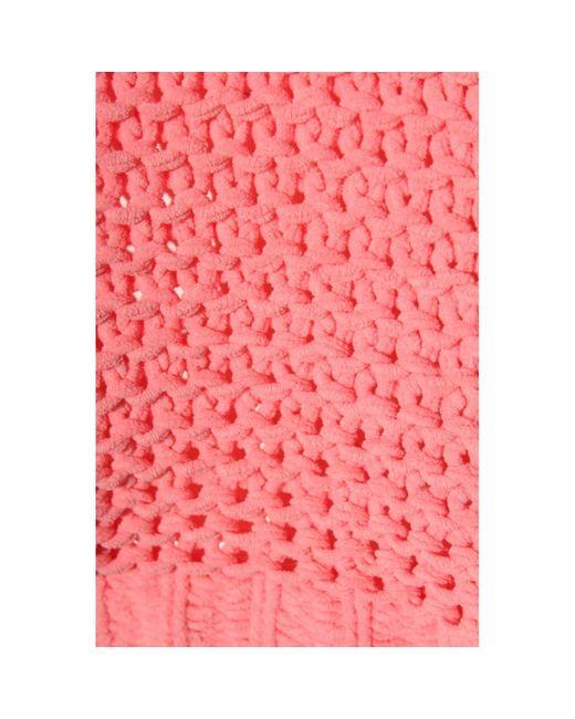 Noisy May Pink Rundhalspullover