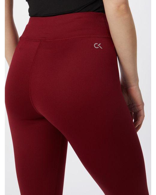 Calvin Klein Red Sporthose