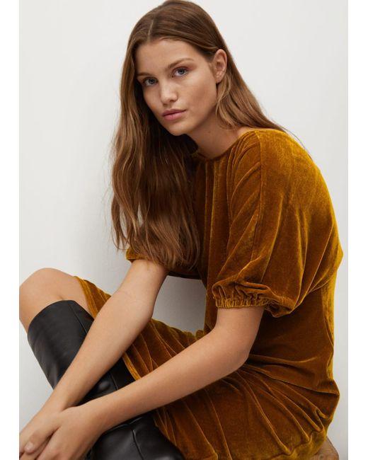 Mango Brown Kleid 'Gaby'