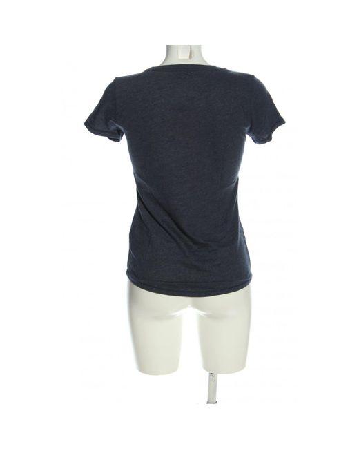 Abercrombie & Fitch Blue Print-Shirt