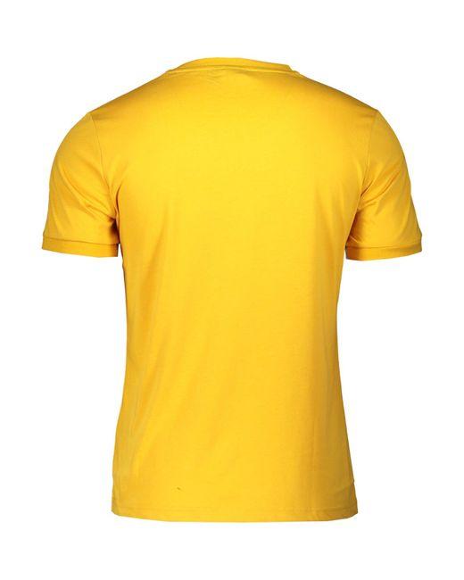 Lotto Leggenda T-Shirt in Yellow für Herren