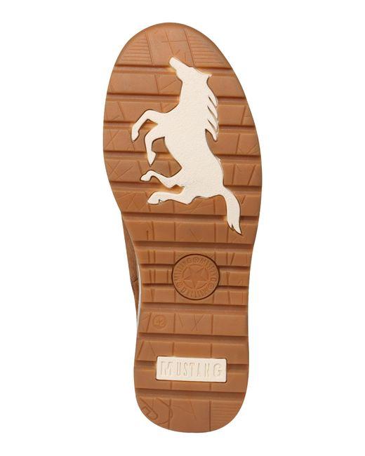 Mustang Schnürstiefelette in Brown für Herren