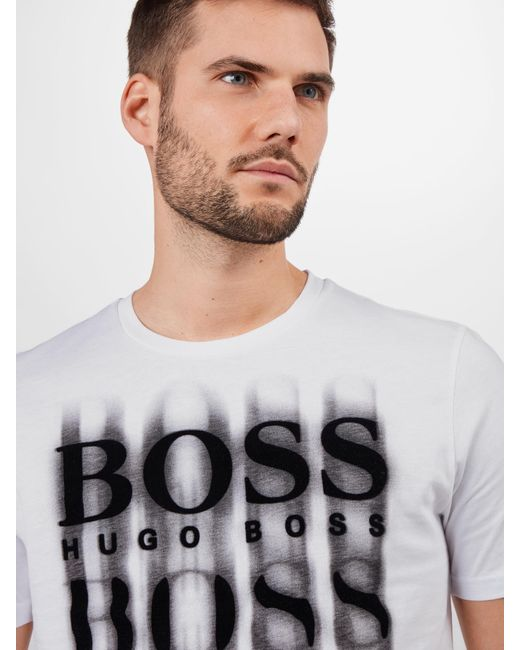BOSS by Hugo Boss Shirt 'Tblurry 4' in Multicolor für Herren
