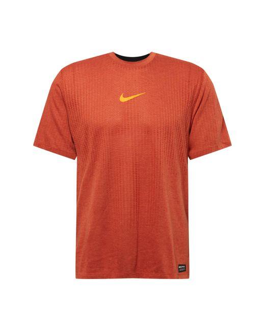 Nike Sportshirt in Orange für Herren