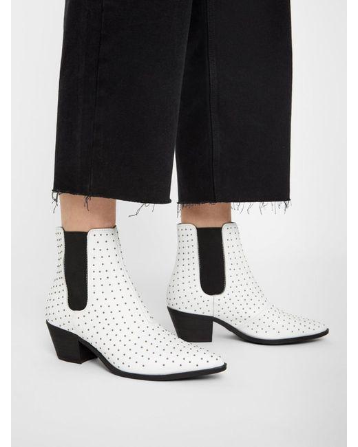Calvin Klein Jeans 50mm hohe stiefeletten aus leder