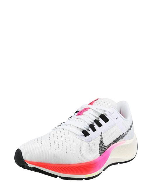 Nike White Laufschuh 'pegasus 38'