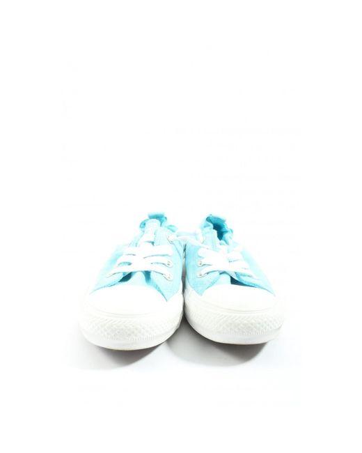 Converse Blue Schnürsneaker