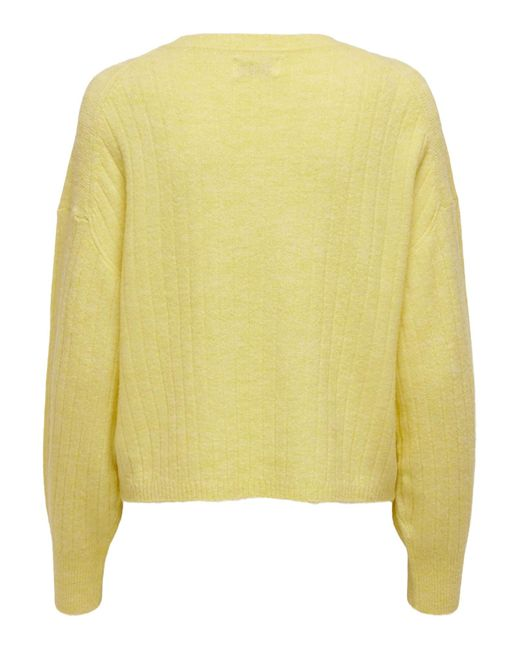 ONLY Yellow Pullover 'Corinne'