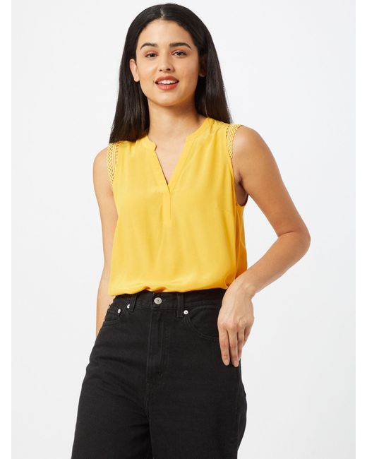 Comma, Yellow Bluse