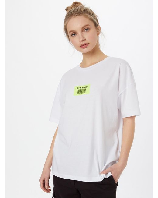 Noisy May White T-Shirt