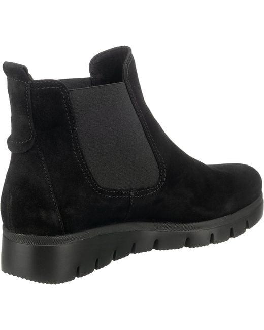 Gabor Black Chelsea Boots