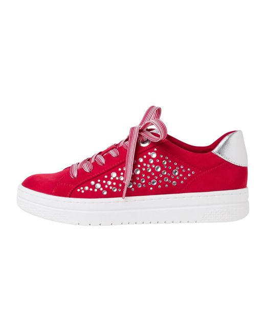 Marco Tozzi Red Sneaker