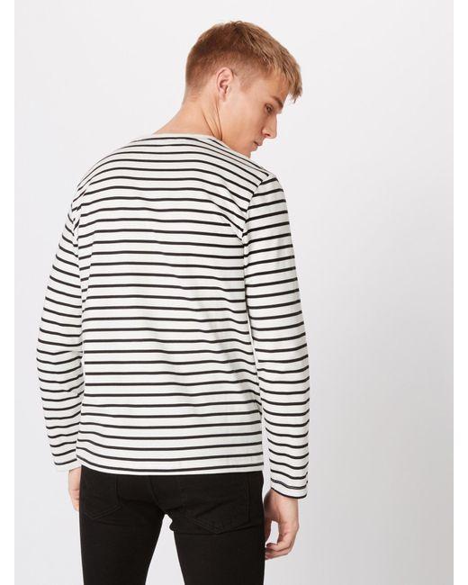 Only & Sons Shirt 'onsEVAN HEAVY LS TEE NOOS' in Multicolor für Herren
