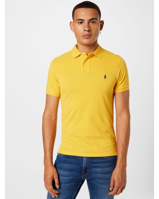 Polo Ralph Lauren Poloshirt in Yellow für Herren