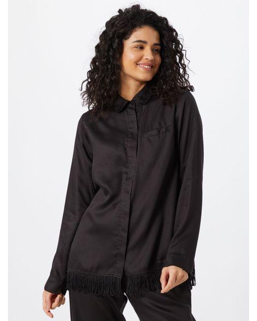 Underprotection Black Schlafshirt 'Freya'