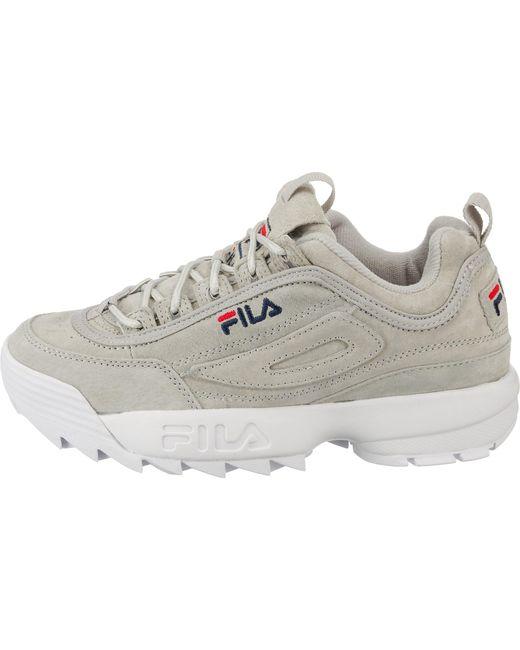 Fila Gray Sneakers 'Disruptor M'