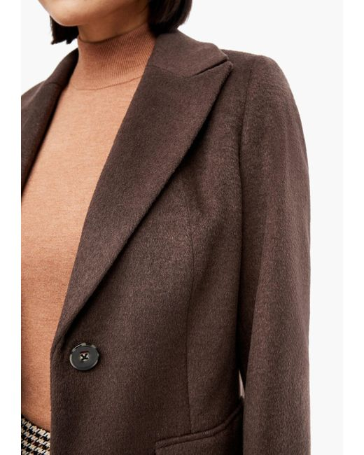 s.Oliver BLACK LABEL Brown Übergangsjacke