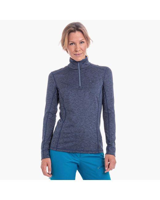 Schoffel Blue Skishirt 'Lienz'