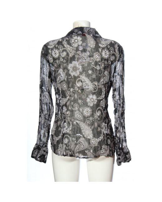 S.oliver Multicolor Transparenz-Bluse