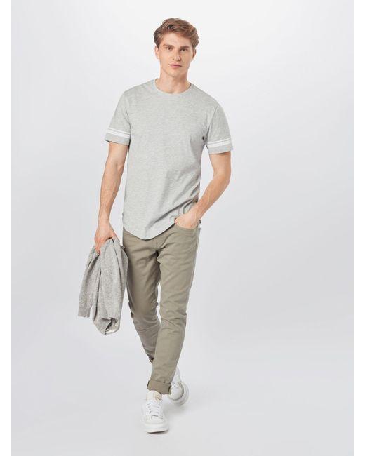 Only & Sons Shirt 'MATT' in Gray für Herren