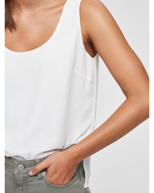 SELECTED White Top