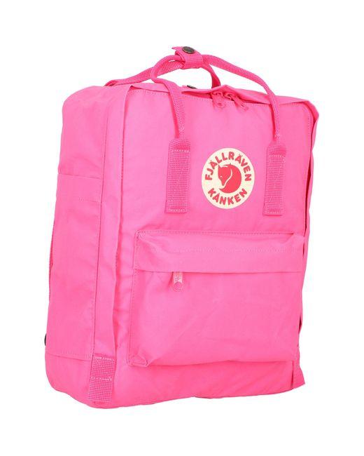 Fjallraven Pink Rucksack 'Kanken'