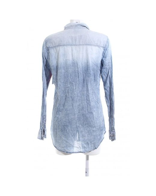 ONLY Blue Langarm-Bluse