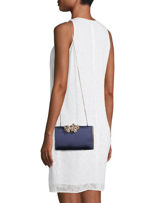Forever New Blue Clutch 'Amy'