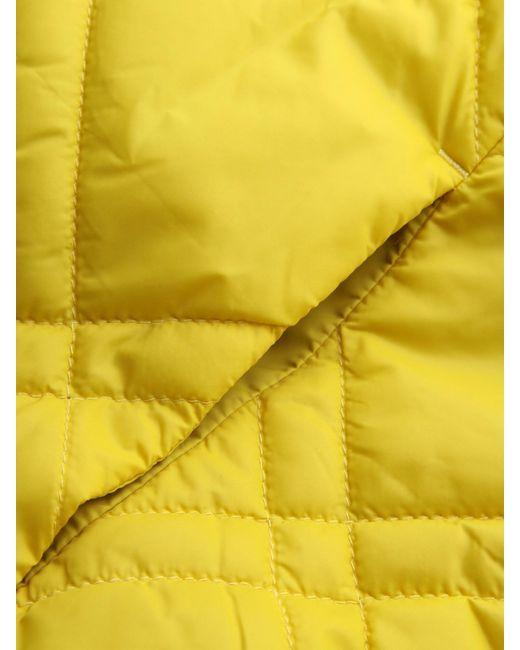 Sandwich Yellow Steppjacke