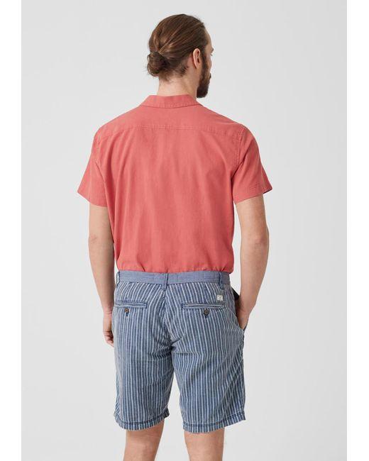 S.oliver Shorts in Blue für Herren