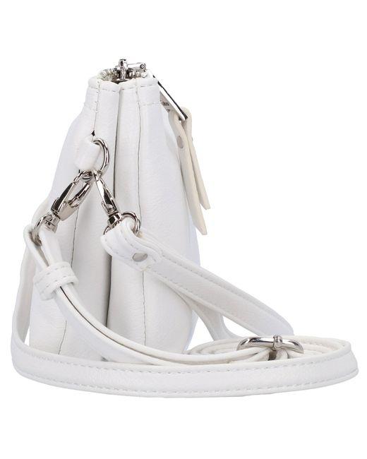 Gabor White Emmy Clutch Tasche 21 cm