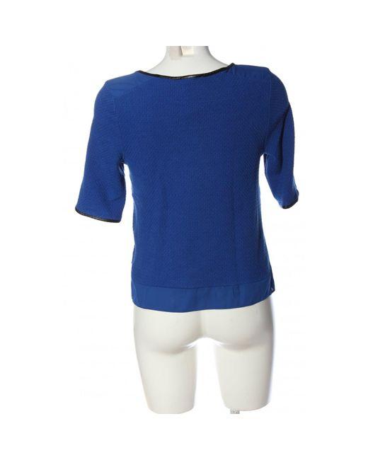 Oasis Blue Schlupf-Bluse