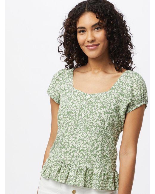 ONLY Green Bluse 'DAVIE'