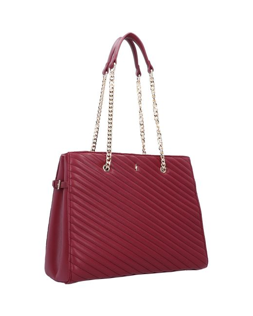 PAULS BOUTIQUE London Red Schultertasche 'Roselie'
