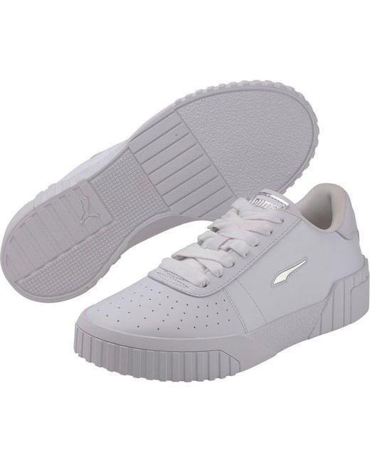 PUMA White Sneaker 'Cali Twist Wn's'