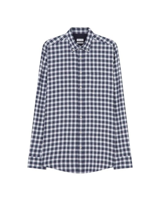 Seidensticker Casual Hemd ' Schwarze Rose ' in Blue für Herren