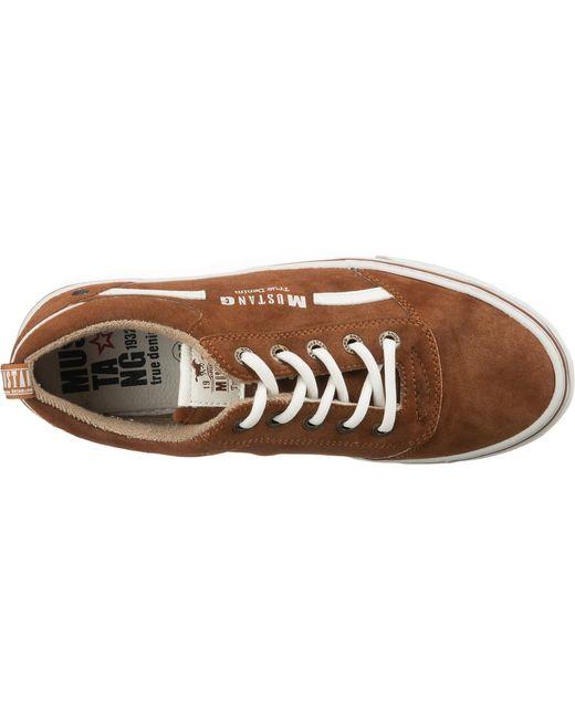 Mustang Brown Sneaker