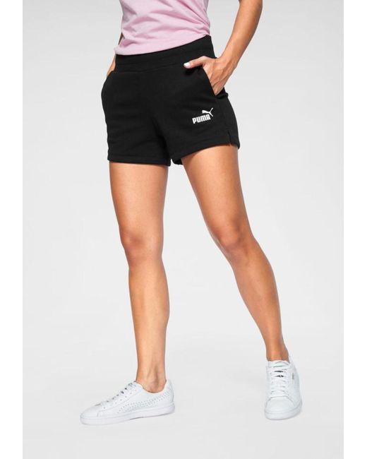 PUMA Black Sport-Shorts