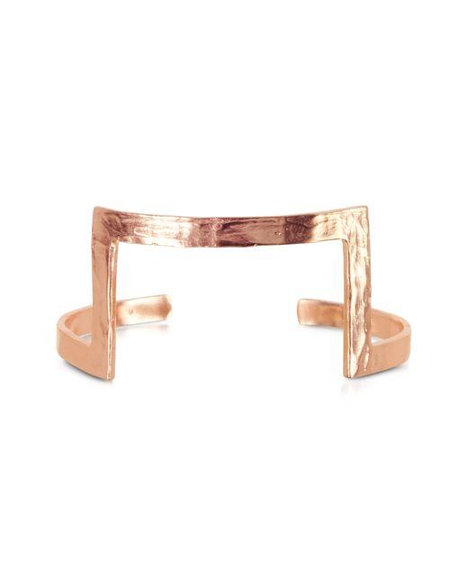 Bjorg | Pink Box In A Hole Armpiece Cuff | Lyst