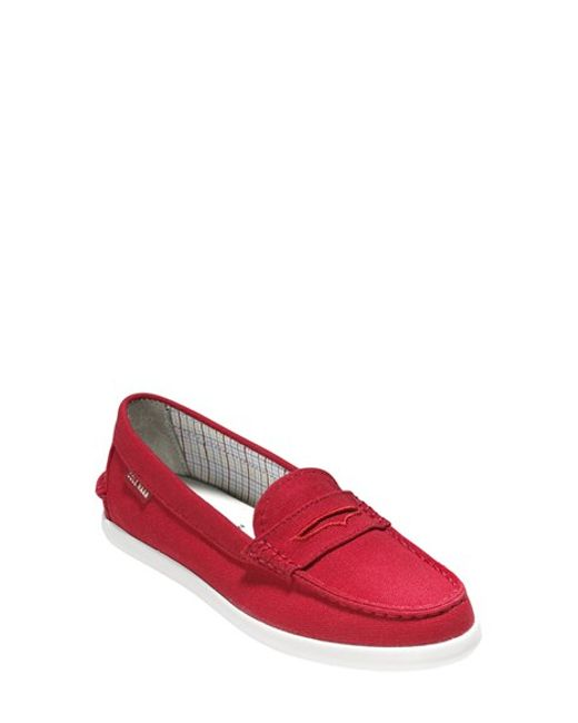 Cole Haan | Red 'Pinch' Loafer | Lyst