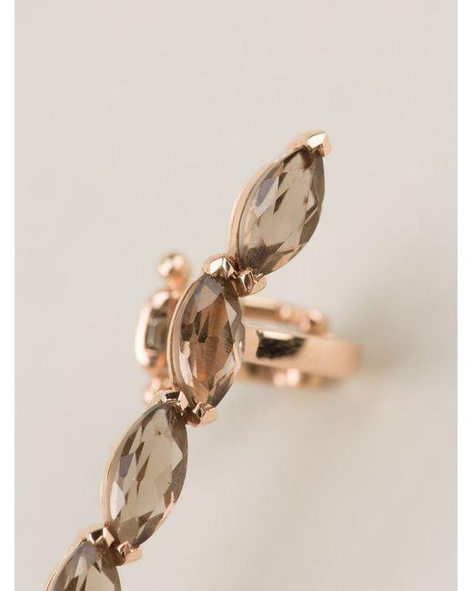 Elise Dray | Metallic 18kt Rose Gold 'ganji' Ear Cuff | Lyst