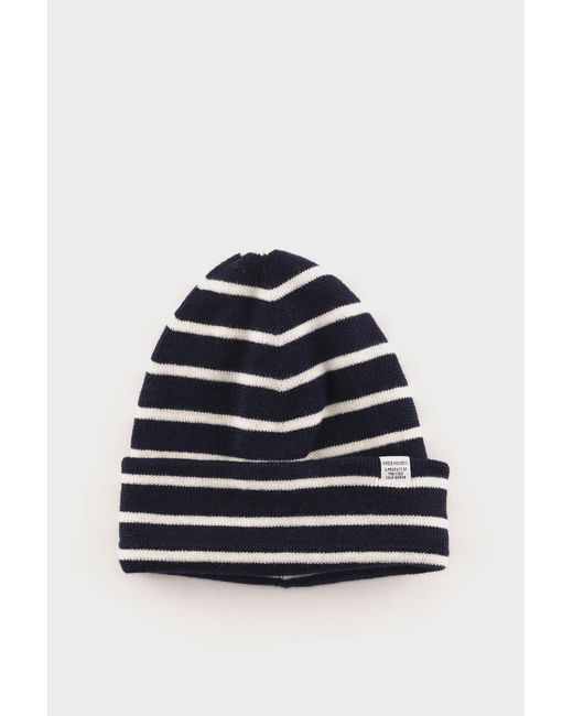 281c6814e3b Norse Projects Norse Classic Normandy Beanie in Blue for Men - Lyst