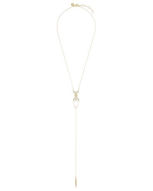 Accessorize - Metallic Dua Boho Long Necklace - Lyst