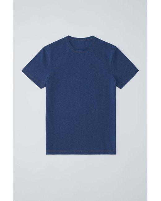 Acne - Edvin denim Blue Melange for Men - Lyst