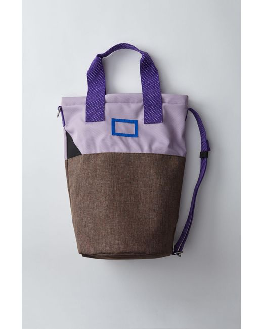 Acne - Purple Light Tote Bag lilac - Lyst